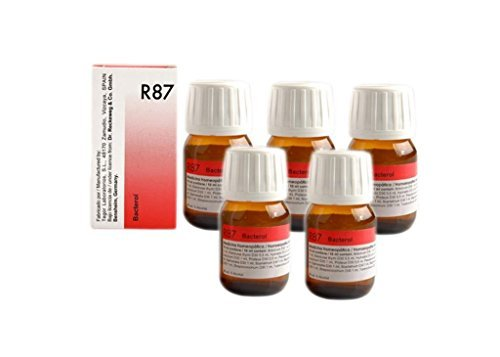 Dr Reckeweg Germany R87- Anti-Bacterial Drops  Pack of 5 – – Shipping by  FEDEX/DHL by Dr  Reckeweg